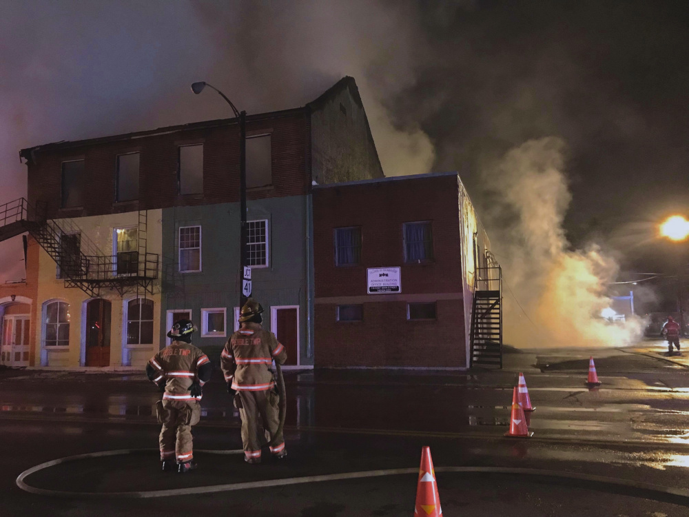 Four Structure Loss in Bainbridge Fire, Investigators Looking for