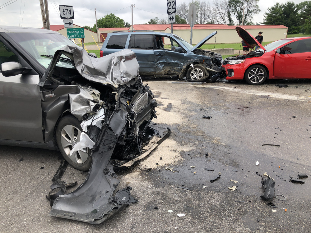 Multiple Car Accident Sends 2 to Hospital - Scioto Post