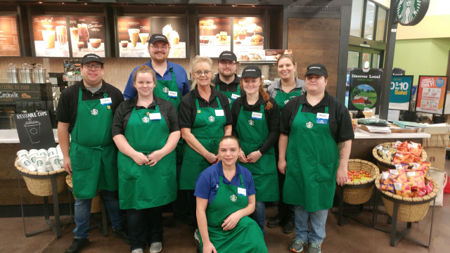 Kroger Circleville Ohio >> The Wait is Over Starbucks is Officially Open Today
