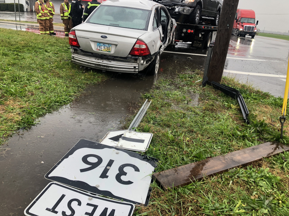 South Bloomfield Accident Sends Two to Hospital - Scioto Post