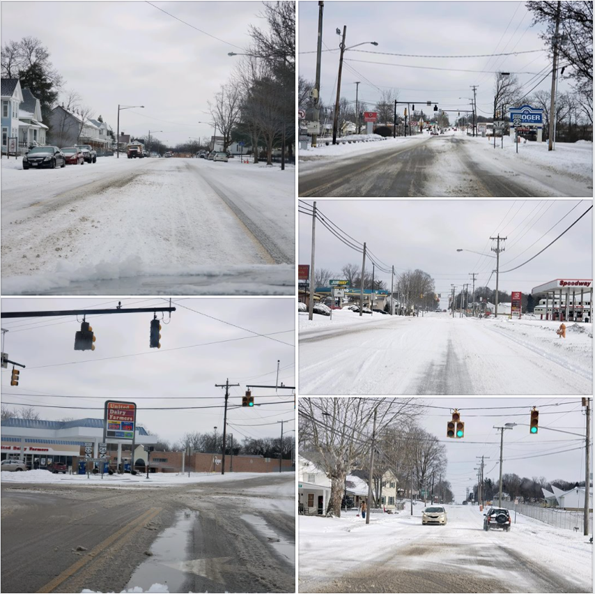 Kroger Waverly Ohio >> Road Conditions in Circleville, Driving Around Photos From