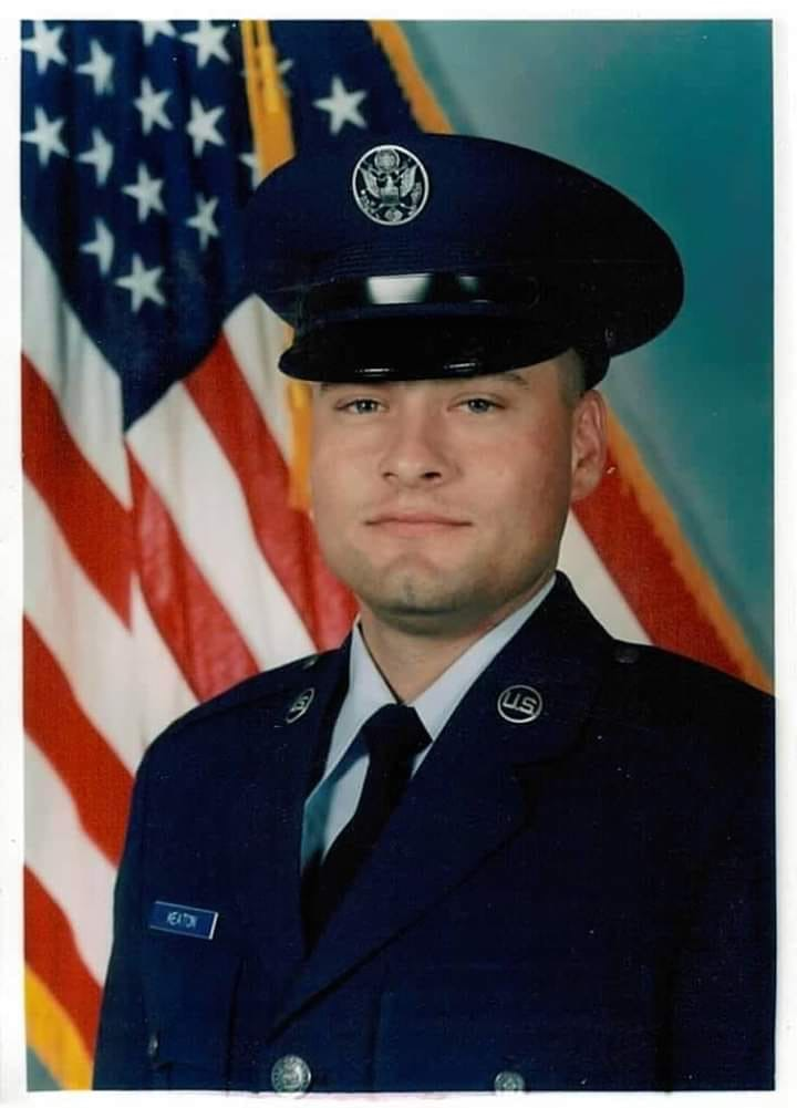 SSgt Christopher Lee Keaton, USAF, (Ret.), 55 - Scioto Post