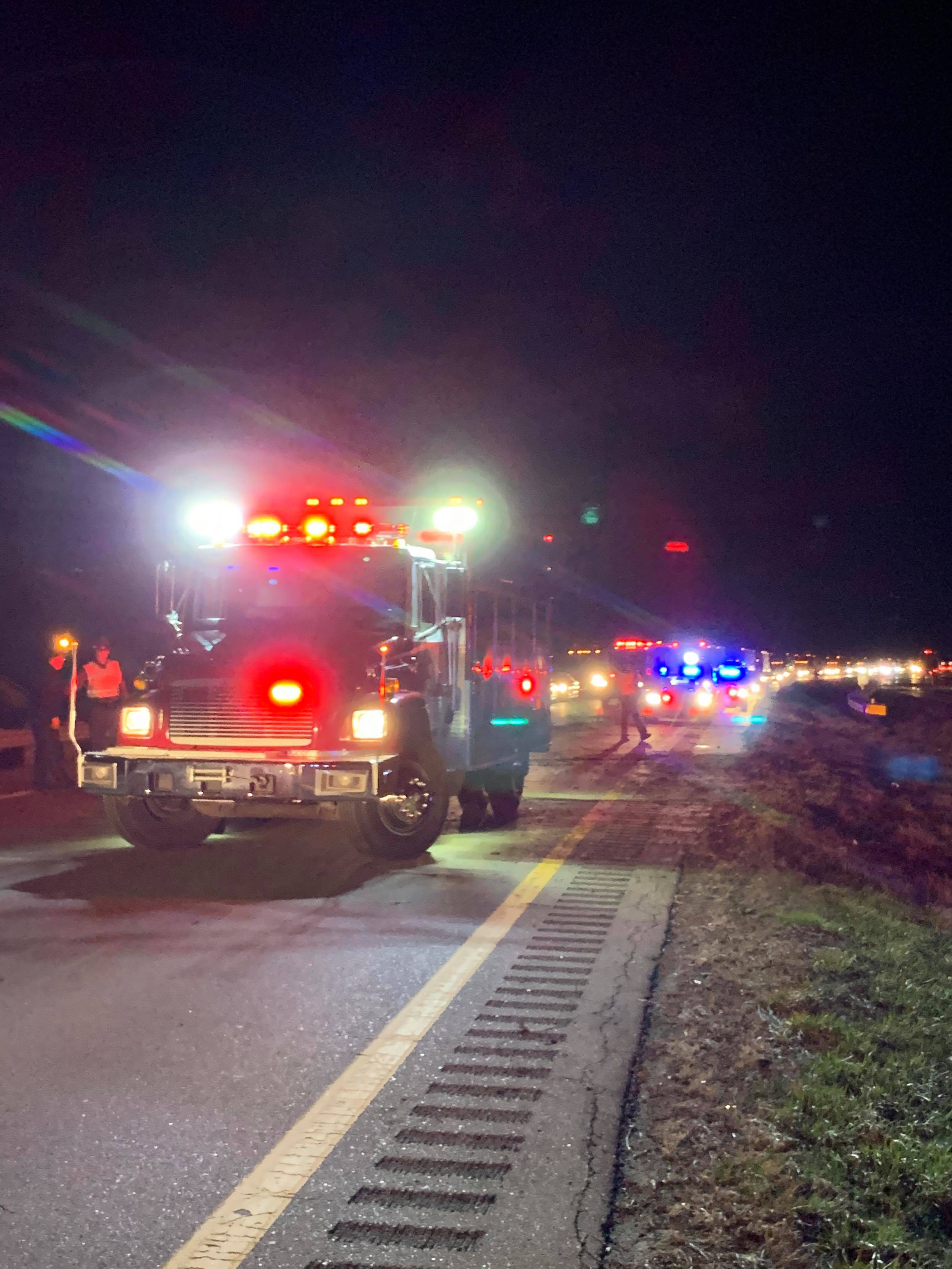 U S  23 Roll-over Accident Sends Three to Hospital - Scioto Post