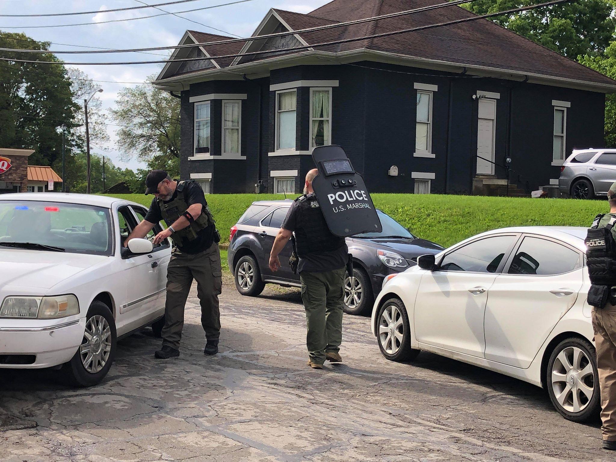 US Marshalls, Circleville Police and Probation Arrest One After