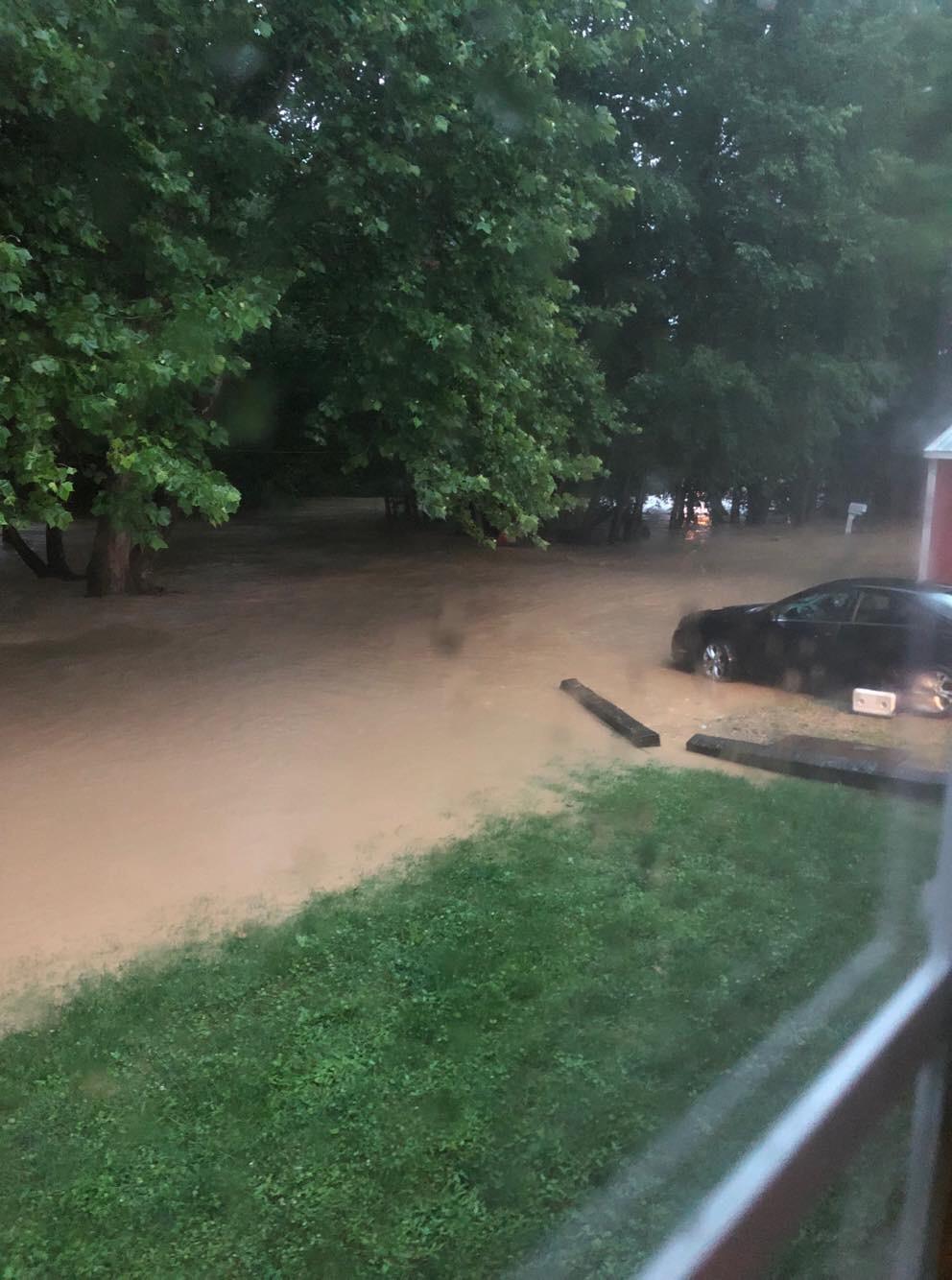 Flooding on Knockemstiff Rd - Scioto Post