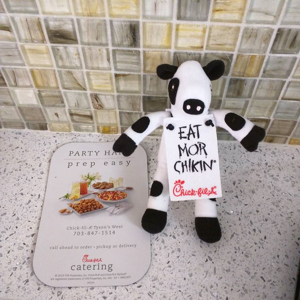 image regarding Cow Appreciation Day Printable titled Costume Together with a Cow Attain Cost-free Foods at Chick-Fil-A Working day - Scioto Report
