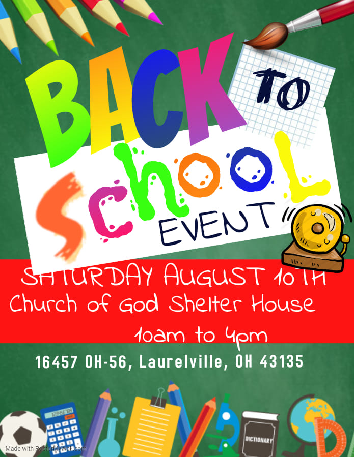 FREE EVENT: Back To School Bash, Backpacks, School Supplies
