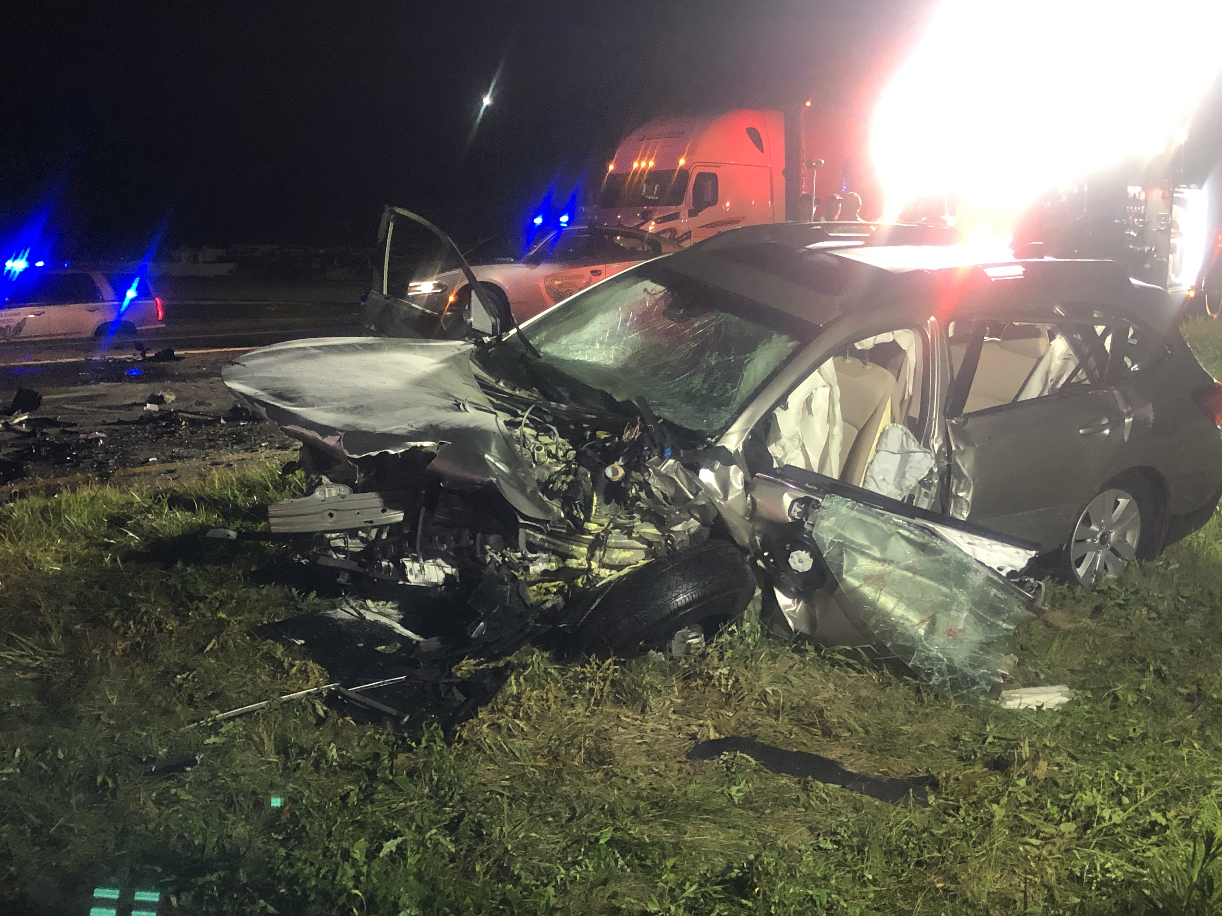 Two Killed in Wrong Way Driver Accident, Several Injured